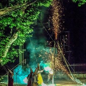 2009 La Neuveville - SDN - 1er août - Spectacle Karnavires - Photo Chs Ballif