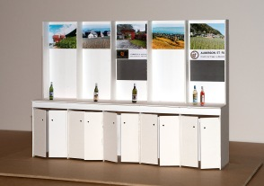 2015 La Neuveville - Maquette - Office du Tourisme - Stand vignerons - Charles Ballif