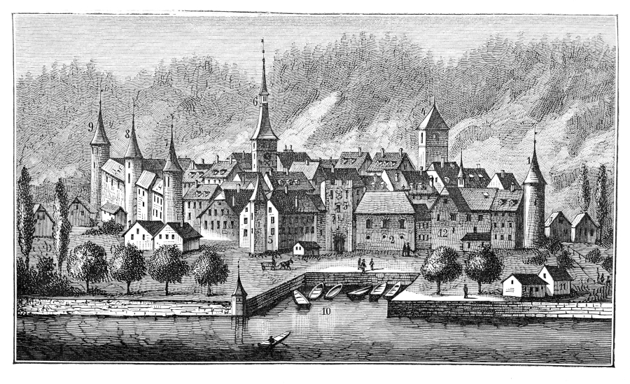La Neuveville en 1760