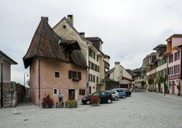 2012 La Neuveville - Rue du Faubourg - Coupe bise - Photo Chs Ballif